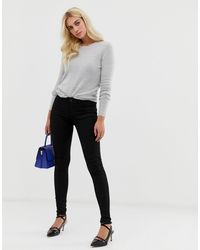 Oasis Classic Skinny Jeans - Black