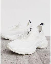 Steve Madden Chunky sneakers en blanco Match