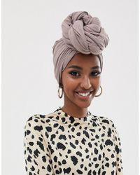 ASOS Large Plain Headscarf - Natural
