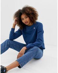 K-Way Augustine - Sweater Met Logo - Blauw