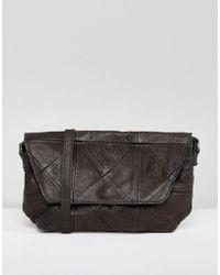 Ichi - Leather Cross Body Bag - Lyst