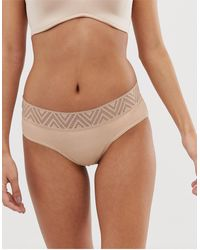 THINX Period Proof hiphugger Brief - Natural