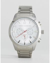 French Connection - Stainless Steel Watch - Lyst