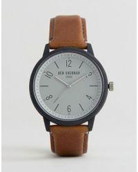 Ben Sherman - Tan Faux Leather Watch - Lyst