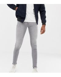 Blend - Tall Flurry Muscle Fit Jeans In Grey - Lyst