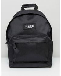 Nicce London Backpack In Black