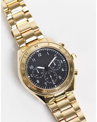 TOPMAN Bracelet Watch - Metallic