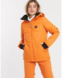 Billabong Down Rider Ski Jacket - Orange