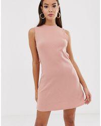 RVCA Talin Cut Out Dress - Pink