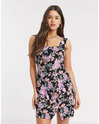 Fashion Union Mini Dress - Black