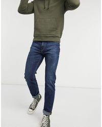 Lee Jeans Rider - Jeans slim - Blu
