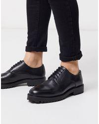 Walk London Sean - Chaussures derby - Cuir noir