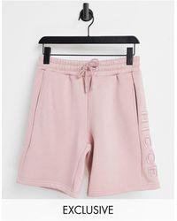 Nicce London Mercury Shorts - Pink