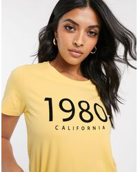 B.Young B. Young - T-shirt - Jaune