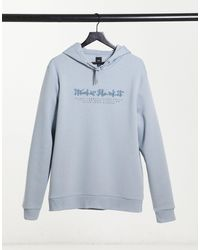 River Island Prolfic Muscle Fit Hoodie - Gray