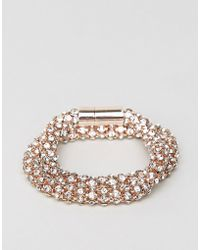 Coast Double Wrap Bracelet - Pink