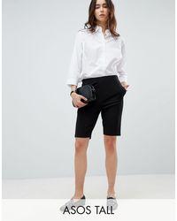 ASOS Asos Design Tall City Shorts - Black
