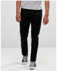 River Island Jeans slim neri - Nero