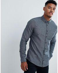 Blend - Brushed Cotton Shirt - Lyst