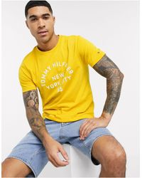 Tommy Hilfiger - Multi Layered Logo Graphic Tee - Lyst