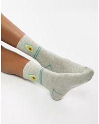 Vero Moda - Avocado Socks - Lyst