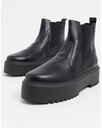 ASOS - Aberdeen Chunky Chelsea Boots - Lyst