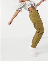 Object Roxanne Twill Jeans - Brown
