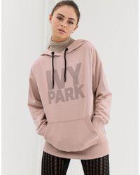 Ivy Park Dot Hoody - Gray