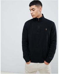 Polo Ralph Lauren Exclusivité ASOS - Pull en maille - Noir