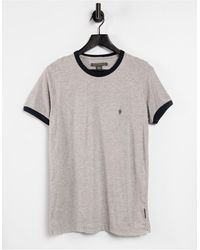 French Connection T-shirt - Grigio