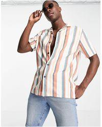 Farah Crockett Short Sleeve Shirt - Red