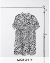 Missguided - Свободное Платье-рубашка С Принтом Далматинца -мульти - Lyst
