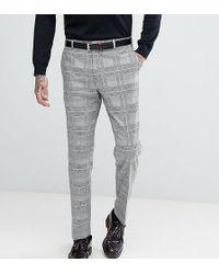 Heart & Dagger - Slim Suit Pants In Pow Check - Lyst