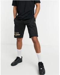True Religion True Retro - Jersey Short - Zwart