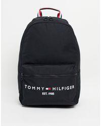 Tommy Hilfiger Черный Рюкзак С Датой Создания Бренда В Логотипе