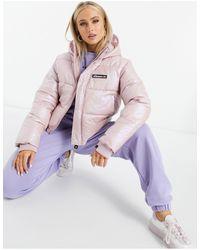 Ellesse Cropped Puffer Jacket - Multicolour