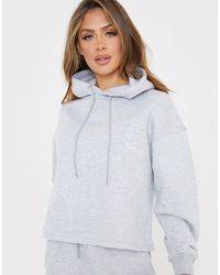 In The Style X Gemma Collins Motif Hoody - Grey