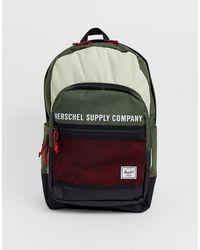 Herschel Supply Co. Mochila con diseño colour block de 30 l Kaine - Multicolor