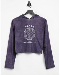 Adolescent Clothing Lounge Error Hoodie - Grey