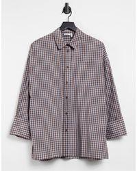 ASOS Relaxed Oversized Shirt - Multicolour
