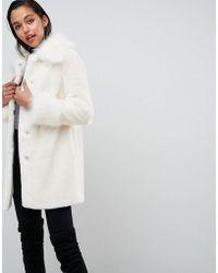 Manteaux de fourrure ASOS femme à partir de 35 € Lyst