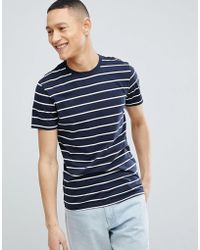 SELECTED - T-shirt With Stripe - Lyst