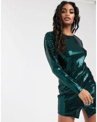 Ivyrevel Robe courte ornée - Vert