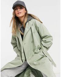Threadbare Louisa Mac Coat - Green