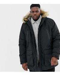 Burton Big & Tall Puffer Parka - Black