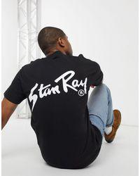 Stan Ray OG - T-shirt nera con stampa sul retro - Nero