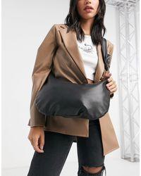 Stradivarius Shoulder Bag - Black