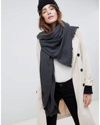 ASOS - Super Soft Square Lightweight Viscose Scarf - Lyst