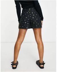Ted Baker Eeviiet Star Jacquard Shorts Black