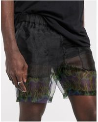 ASOS - Slim Shorter Shorts - Lyst